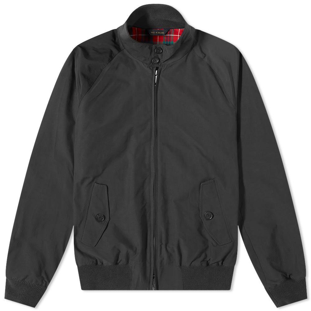 バラクータ Baracuta メンズ ジャケット スイングトップ アウター【g9 original harrington jacket】Faded Black