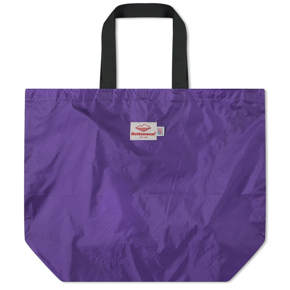 バテンウェア Battenwear メンズ トートバッグ バッグ【packable tote】Purple/Black
