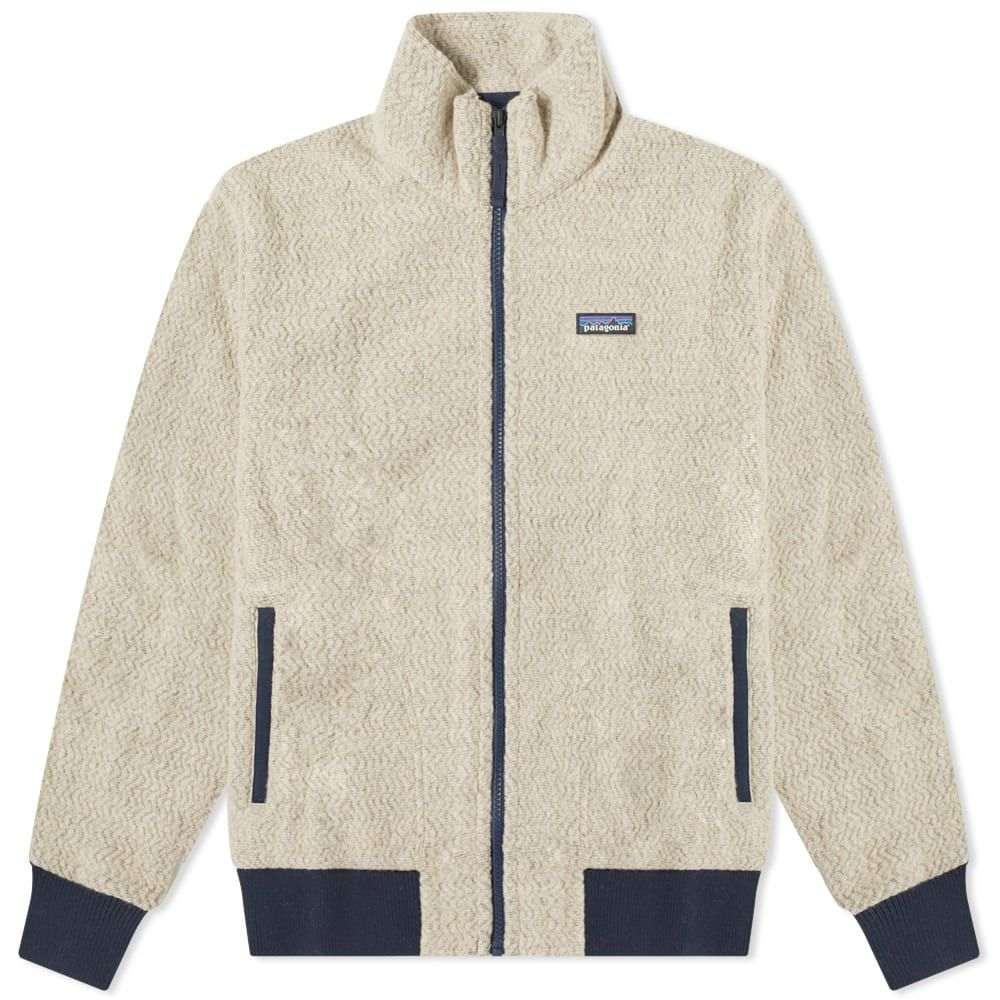 パタゴニア Patagonia メンズ フリース トップス【woolyester fleece jacket】Oatmeal Heather