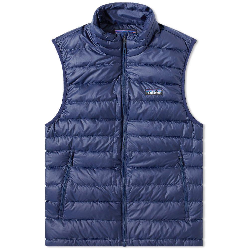 パタゴニア Patagonia メンズ ベスト・ジレ ダウンベスト トップス【down sweater vest】Classic Navy