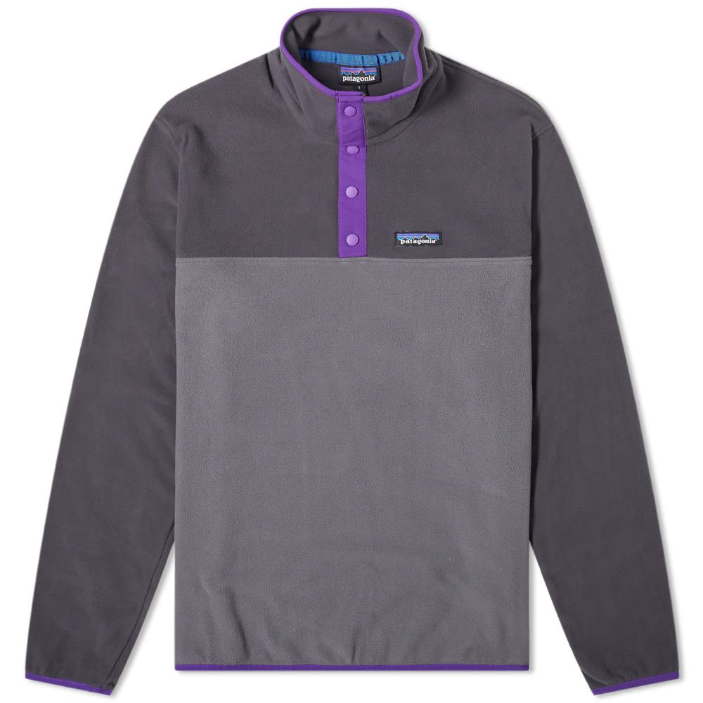 パタゴニア Patagonia メンズ フリース トップス【micro d snap-t pullover jacket】Forge Grey