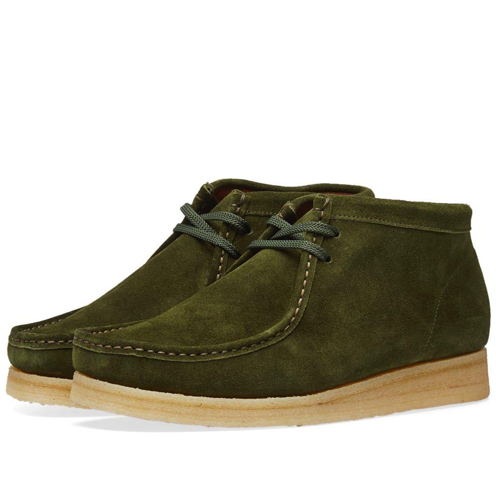 パドモア&バーンズ Padmore & Barnes メンズ シューズ・靴 ブーツ【P404 Original Boot】Kelp Suede