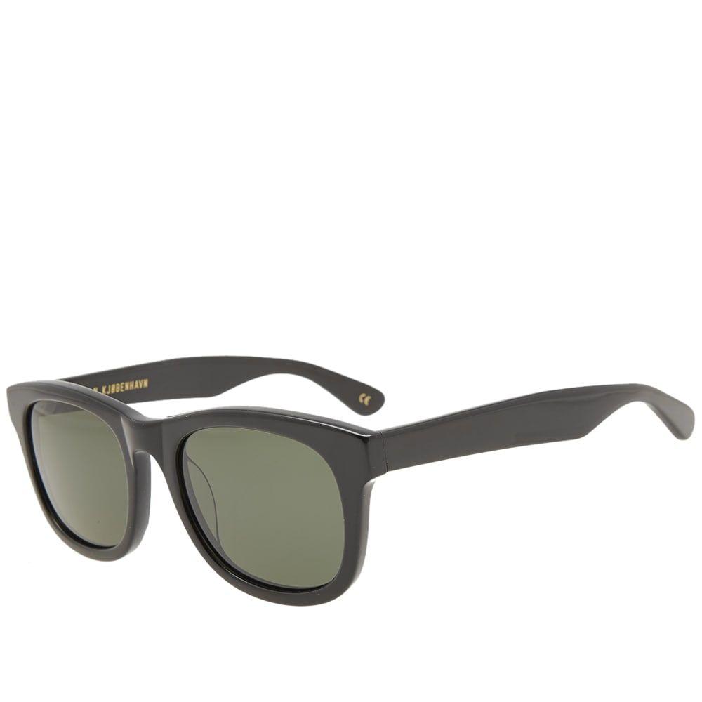 ハン コペンハーゲン Han Kjobenhavn メンズ メガネ・サングラス 【han wolfgang sunglasses】Black
