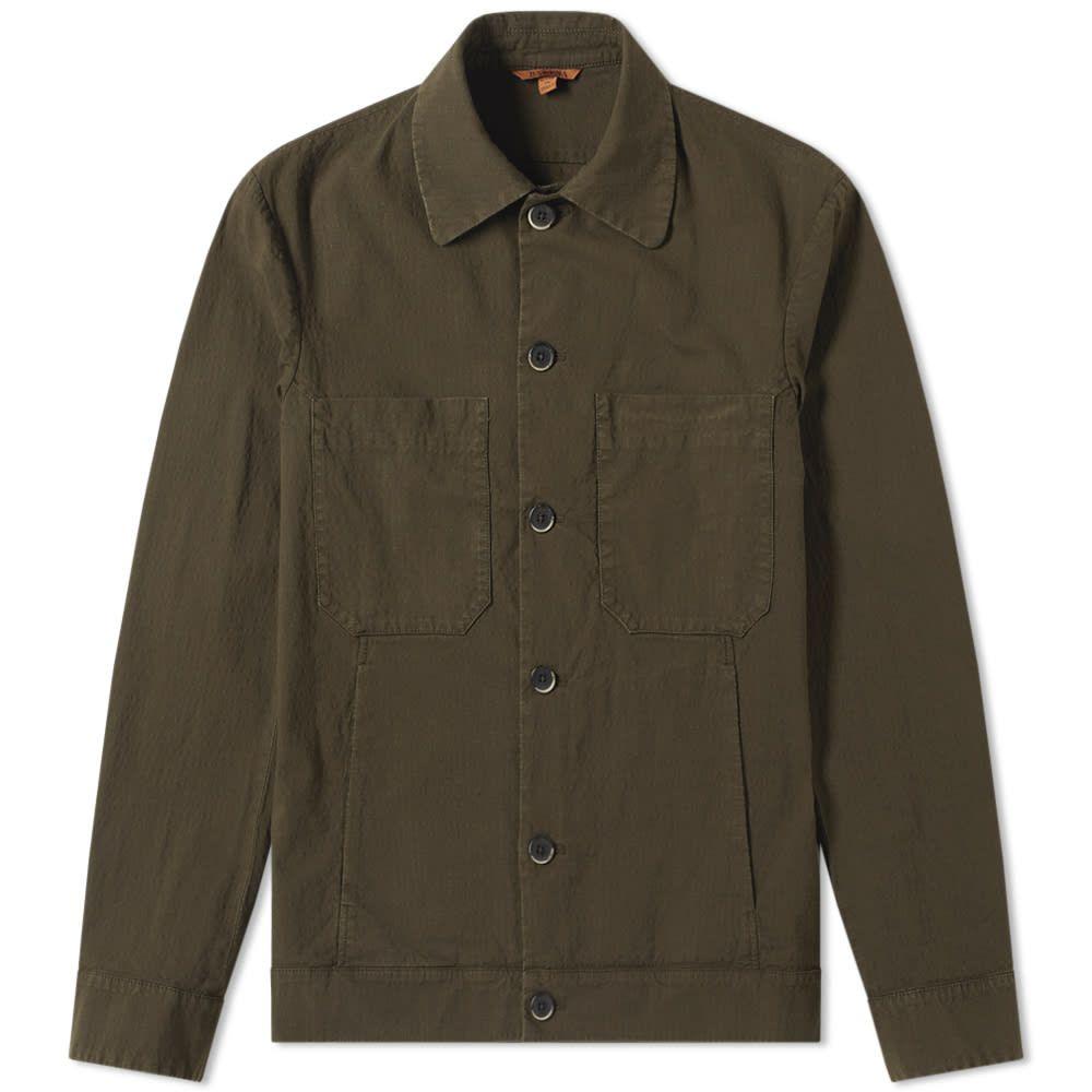 バレナ Barena メンズ ジャケット アウター【twill chore jacket】Olive