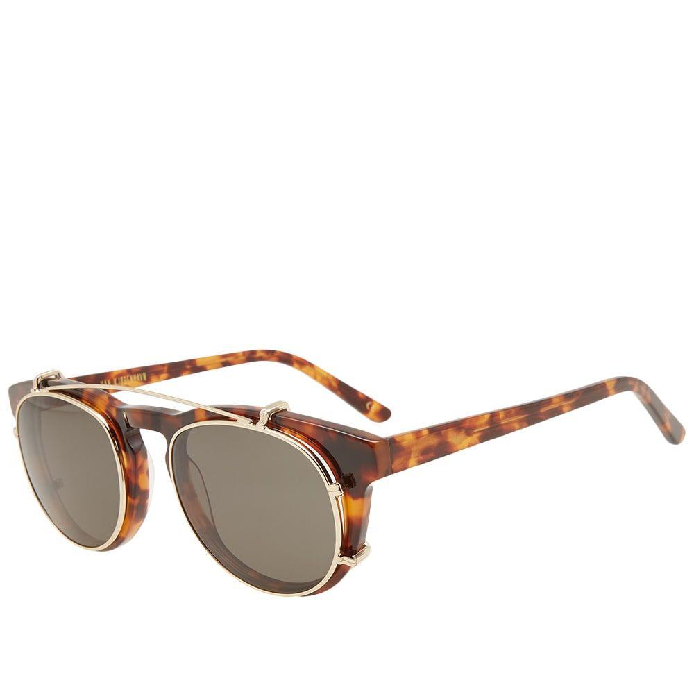 ハン コペンハーゲン Han Kjobenhavn メンズ メガネ・サングラス 【han timeless clip-on sunglasses】Amber