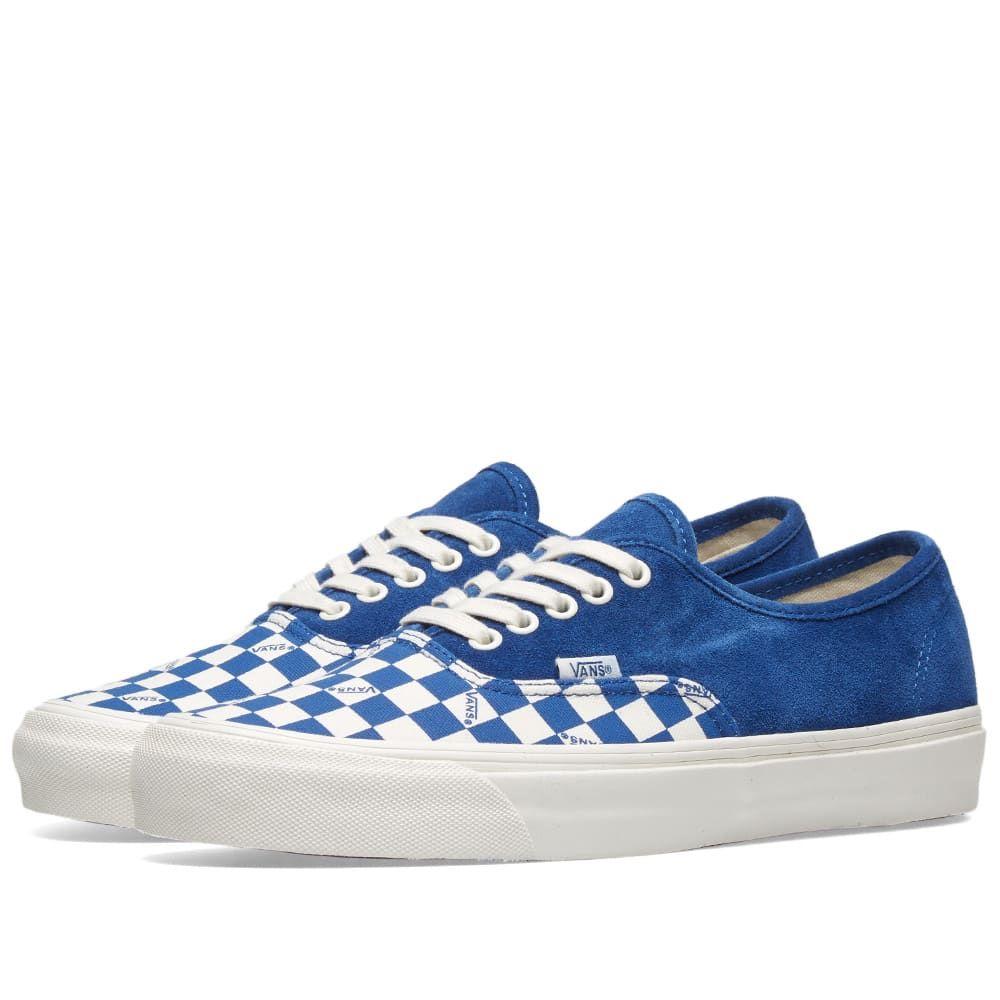 バンズ ボルト Vans Vault メンズ シューズ・靴 スニーカー【OG Authentic LX】True Blue/Checkerboard