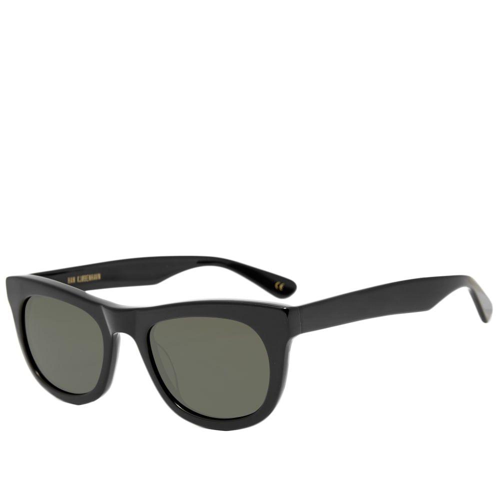 ハン コペンハーゲン Han Kjobenhavn メンズ メガネ・サングラス 【han cubicle sunglasses】Black