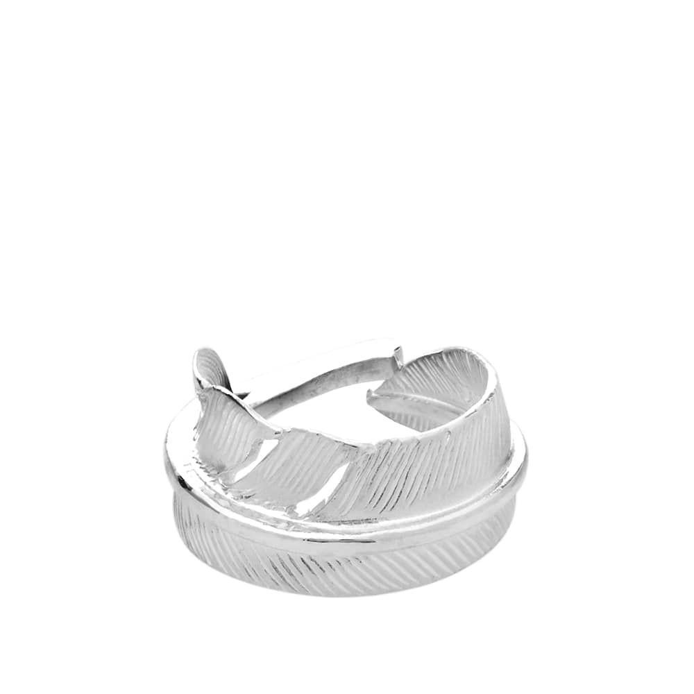 ファーストアローズ First Arrows メンズ 指輪・リング ジュエリー・アクセサリー【kazekiri feather ring】Silver