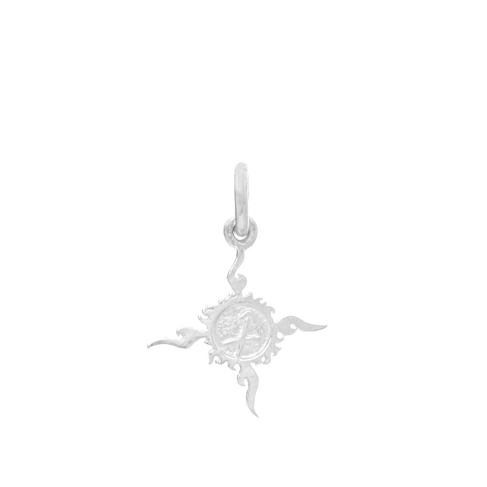 ファーストアローズ First Arrows メンズ ジュエリー・アクセサリー 【sv openwork mark x-small pendant】Silver