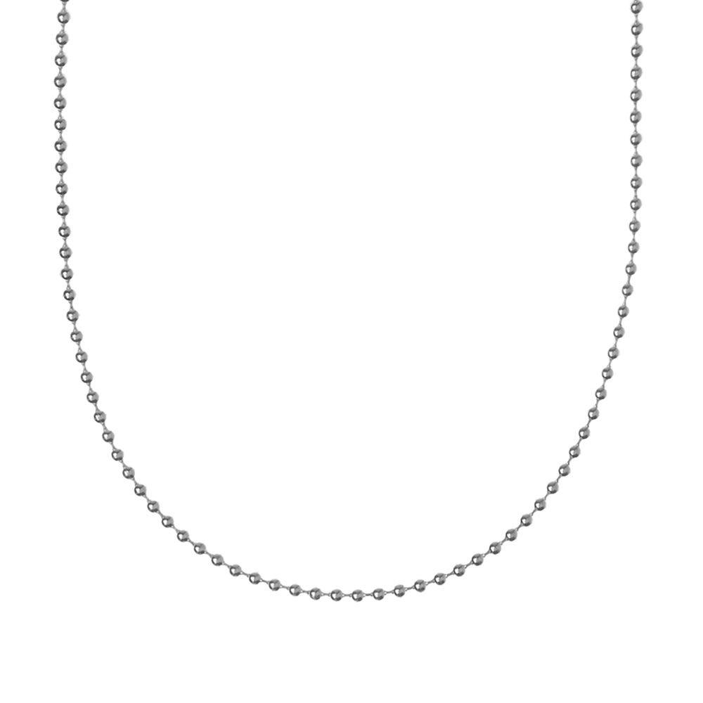 ファーストアローズ First Arrows メンズ ネックレス ジュエリー・アクセサリー【60cm ball chain】Silver