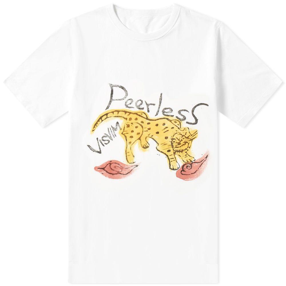 ビズビム Visvim メンズ Tシャツ トップス【jumbo peerless tee】White