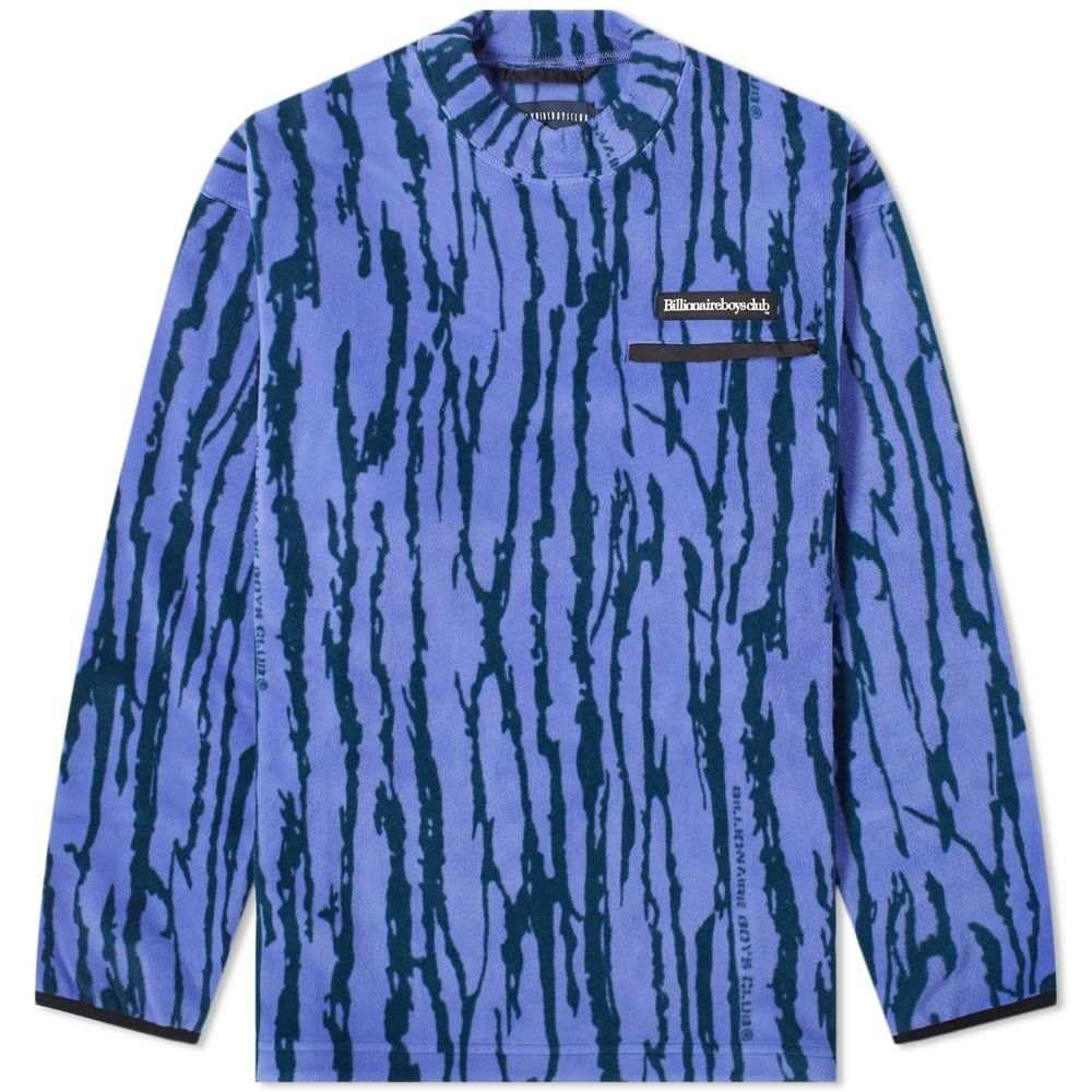 ビリオネアボーイズクラブ Billionaire Boys Club メンズ フリース トップス【bark camo fleece】Purple
