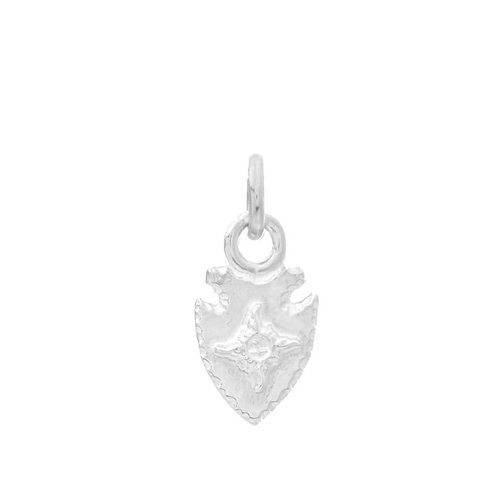 ファーストアローズ First Arrows メンズ ジュエリー・アクセサリー 【arrowhead top sv mark x-small pendant】Silver