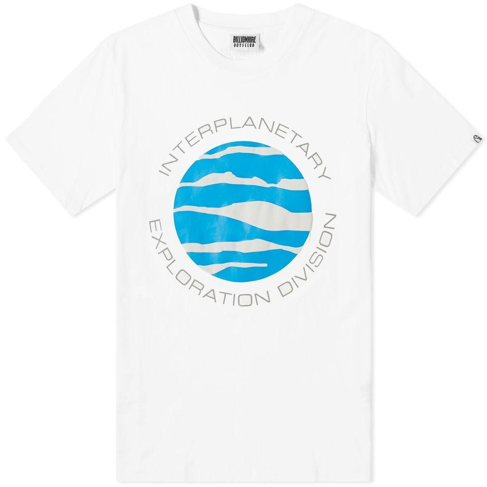 ビリオネアボーイズクラブ Billionaire Boys Club メンズ Tシャツ トップス【planet tee】White