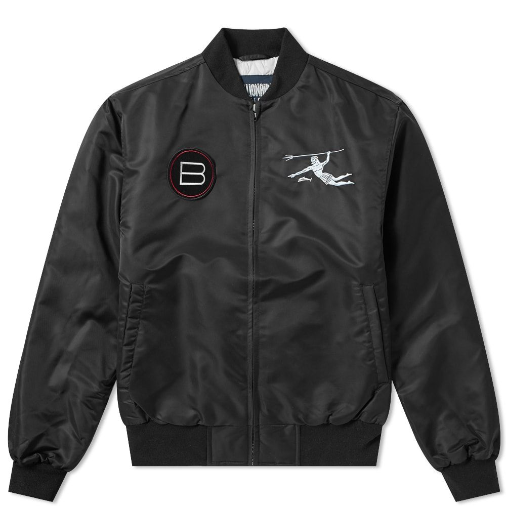 ビリオネアボーイズクラブ Billionaire Boys Club メンズ ジャケット アウター【neptune team jacket】Black