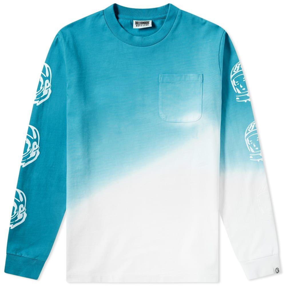 ビリオネアボーイズクラブ Billionaire Boys Club メンズ 長袖Tシャツ トップス【long sleeve bleached tee】Teal