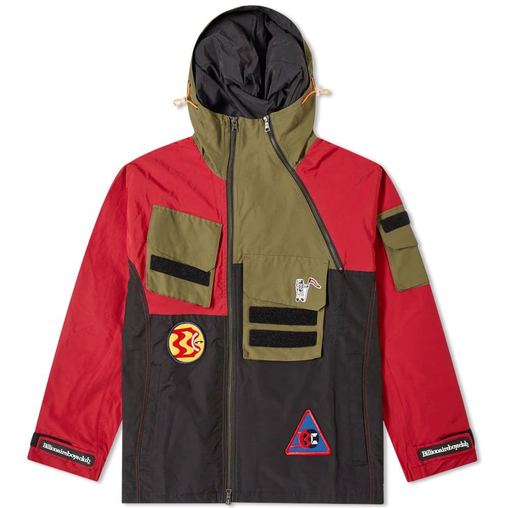 ビリオネアボーイズクラブ Billionaire Boys Club メンズ ジャケット アウター【expedition training jacket】Red