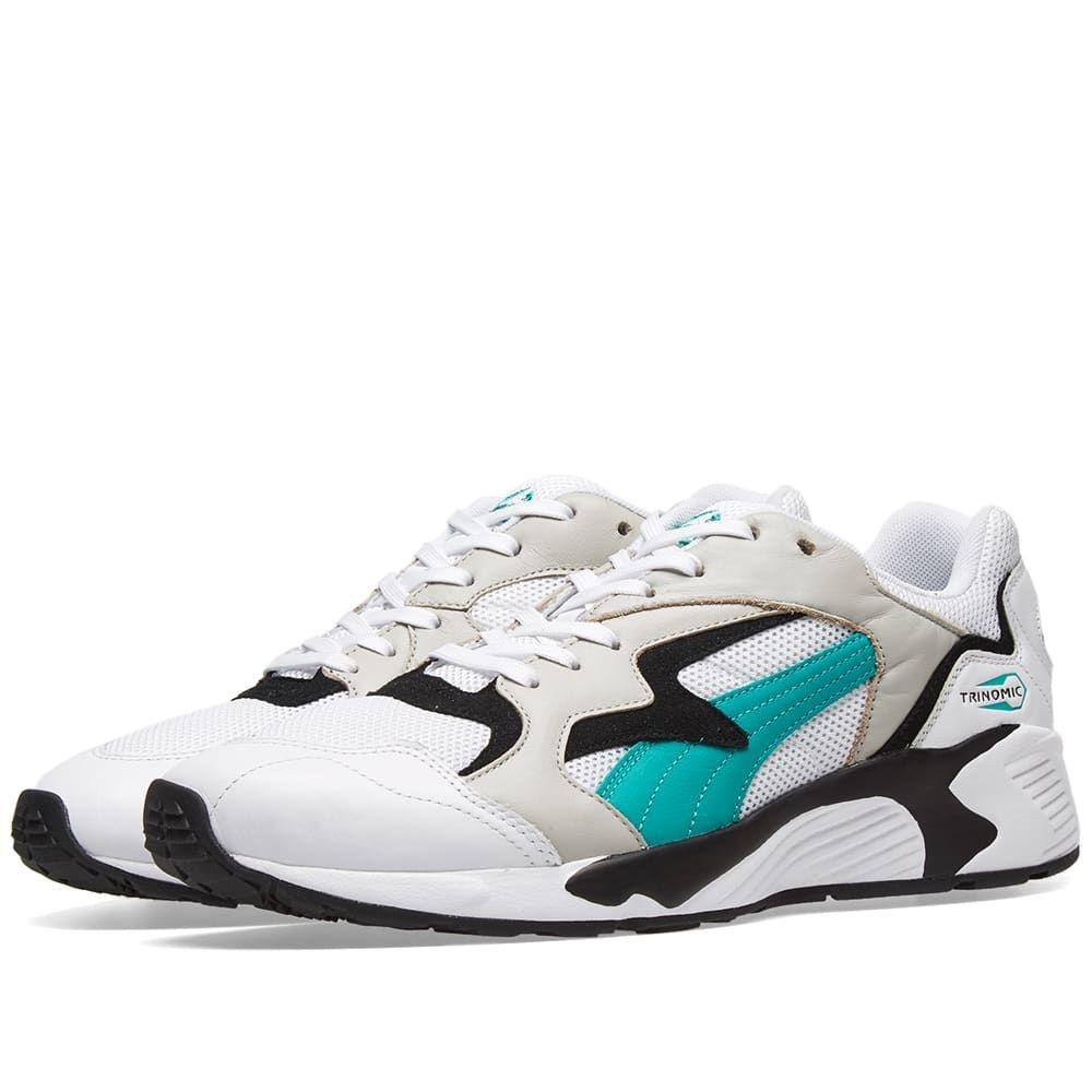プーマ Puma メンズ スニーカー シューズ・靴【prevail】White/Green