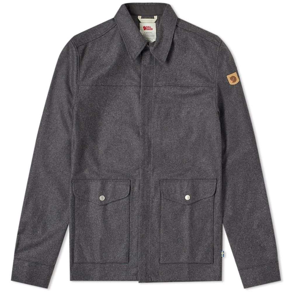 フェールラーベン Fjallraven メンズ ジャケット シャツジャケット アウター【greenland re-wool shirt jacket】Grey