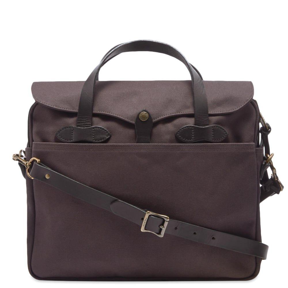 フィルソン Filson メンズ ビジネスバッグ・ブリーフケース バッグ【original briefcase】Cinder
