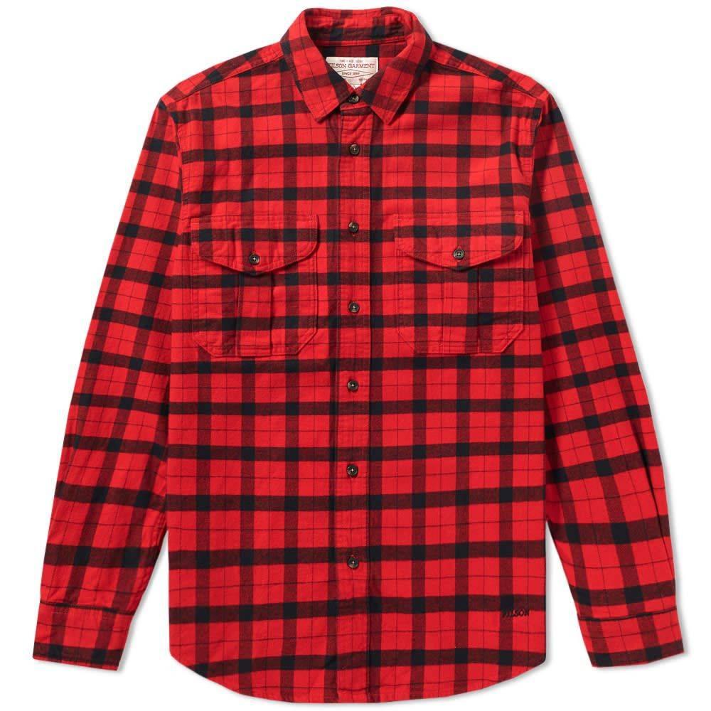 フィルソン Filson メンズ シャツ トップス【alaskan guide shirt】Red/Black