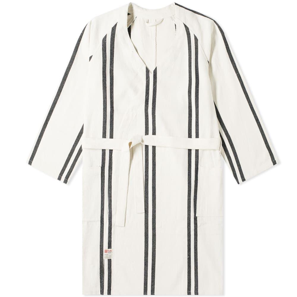 プエブコ Puebco メンズ ガウン・バスローブ インナー・下着【bath robe】Narrow Stripe