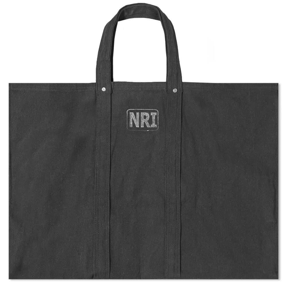 プエブコ Puebco メンズ トートバッグ バッグ【large labour tote bag】Black