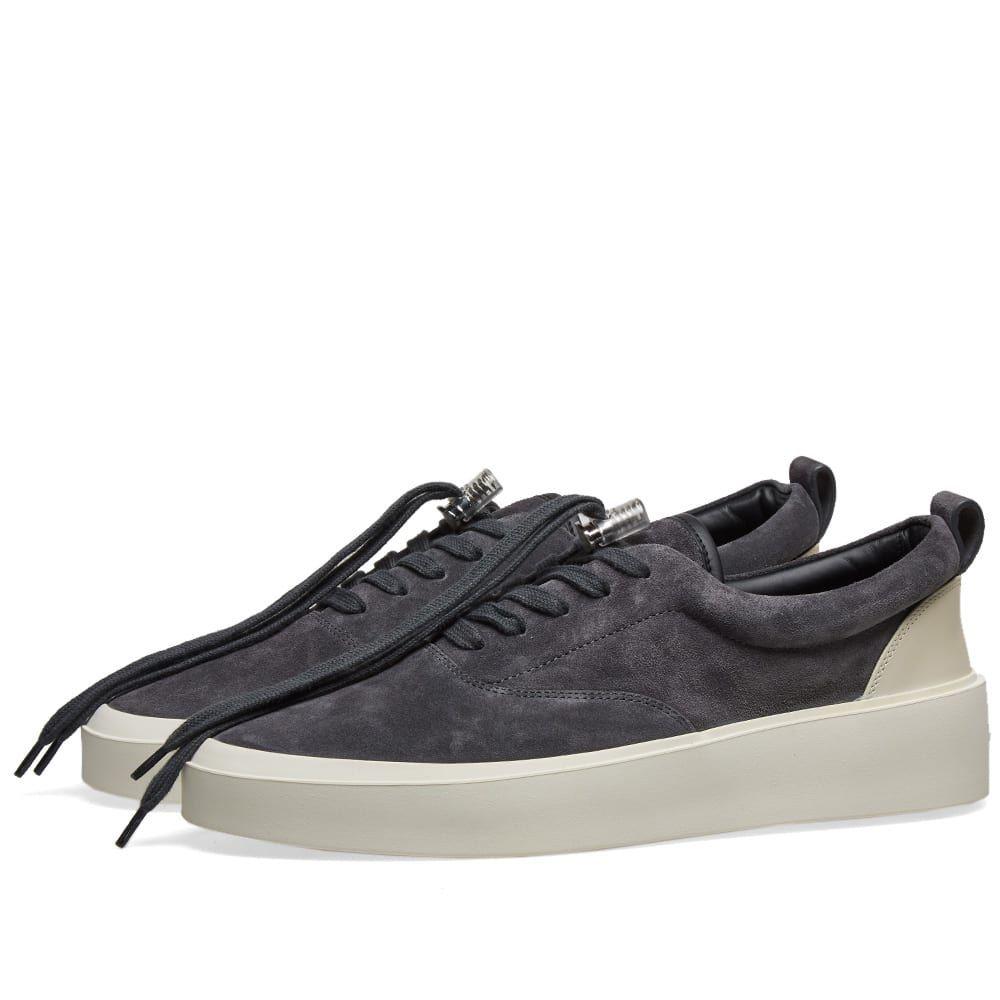 フィアオブゴッド Fear Of God メンズ シューズ・靴 スニーカー【101 Lace Up Sneaker】Charcoal/Cream