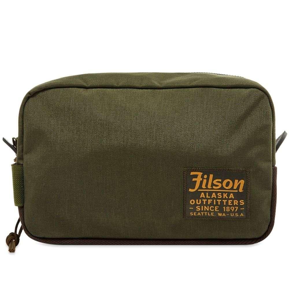 フィルソン Filson メンズ ポーチ 【travel pack】Otter Green