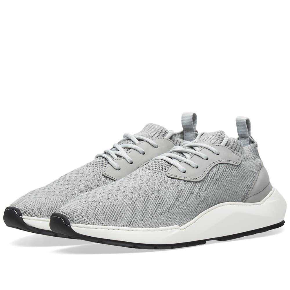 フィリング ピース Filling Pieces メンズ シューズ・靴 スニーカー【Speed Arch Runner Sneaker】Knit Light Grey