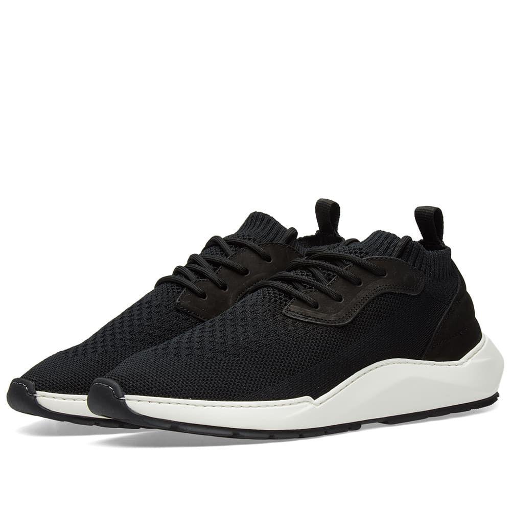 フィリング ピース Filling Pieces メンズ シューズ・靴 スニーカー【Speed Arch Runner Sneaker】Knit Black