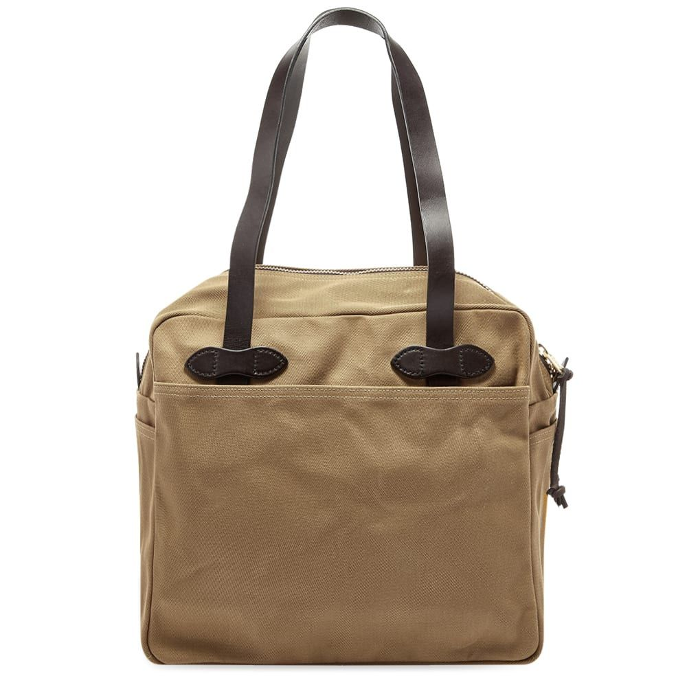 フィルソン Filson メンズ トートバッグ バッグ【zip tote bag】Tan