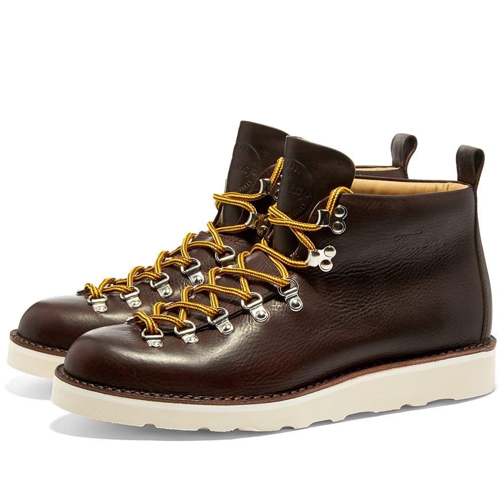 フラカップ Fracap メンズ シューズ・靴 ブーツ【M120 Cristy Vibram Sole Scarponcino Boot】Dark Brown