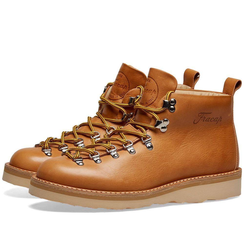 フラカップ Fracap メンズ シューズ・靴 ブーツ【M120 Natural Vibram Sole Scarponcino Boot】Tan
