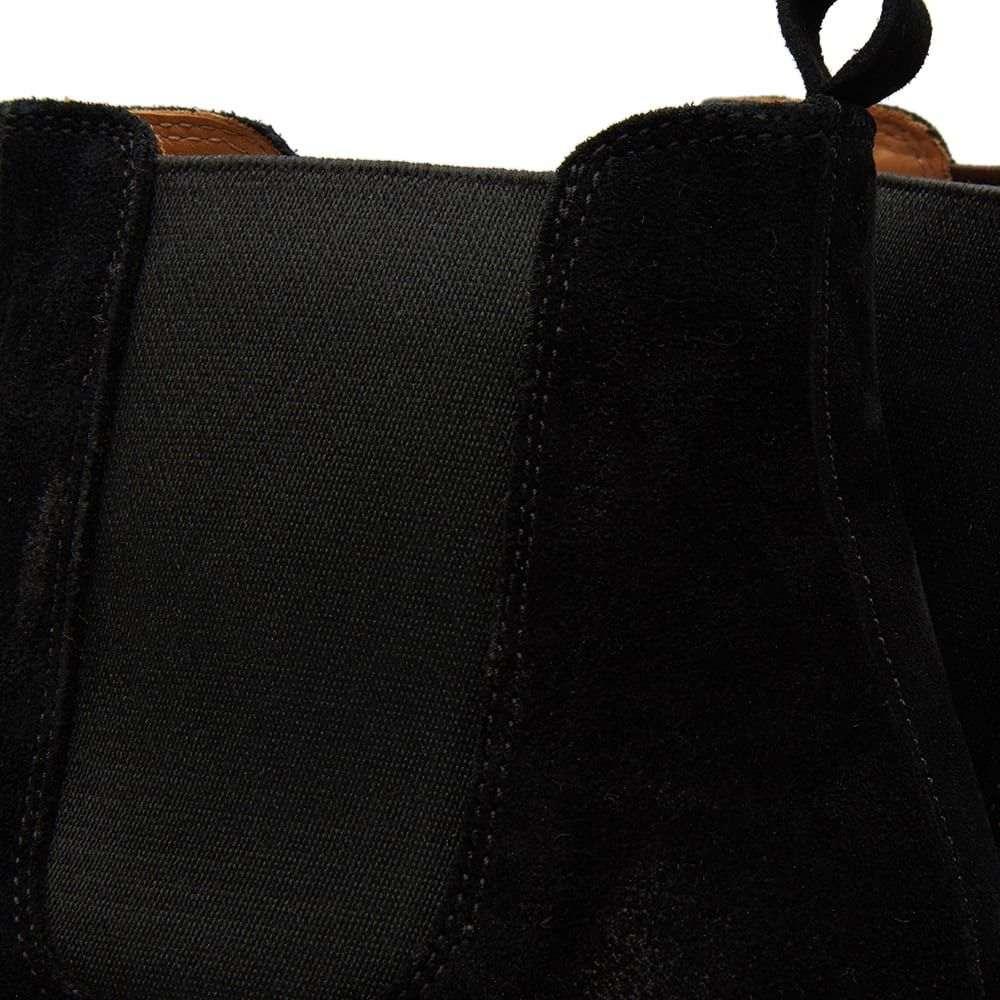 ブッテロ Buttero メンズ シューズ・靴 ブーツ【Tanino Suede Chelsea Boot】Black