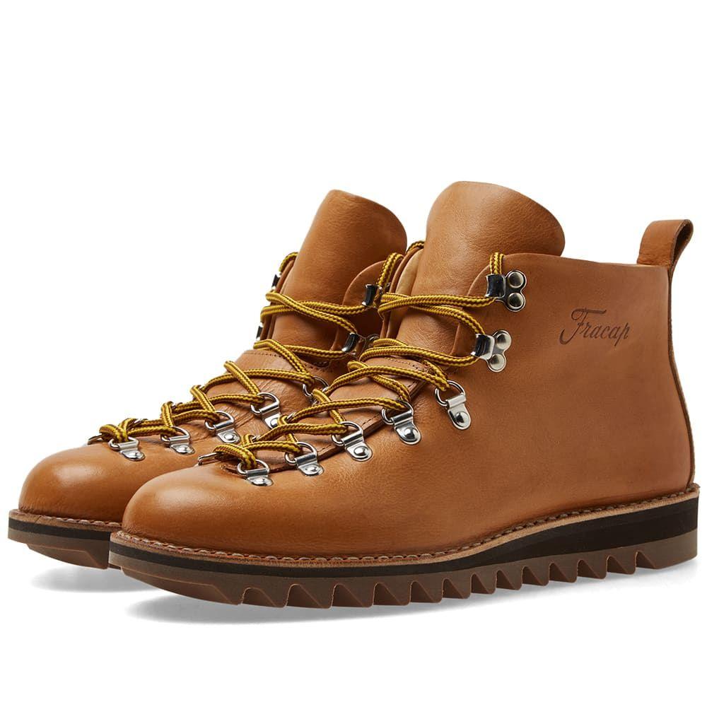 フラカップ Fracap メンズ シューズ・靴 ブーツ【M120 Ripple Sole Scarponcino Boot】Tan