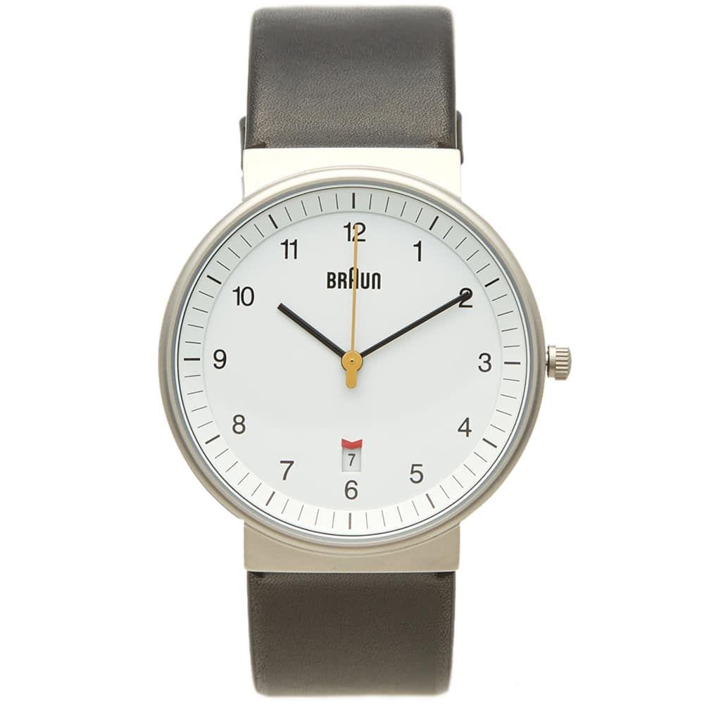 ブラウン Braun メンズ 腕時計 【bn0032 watch】White/Black