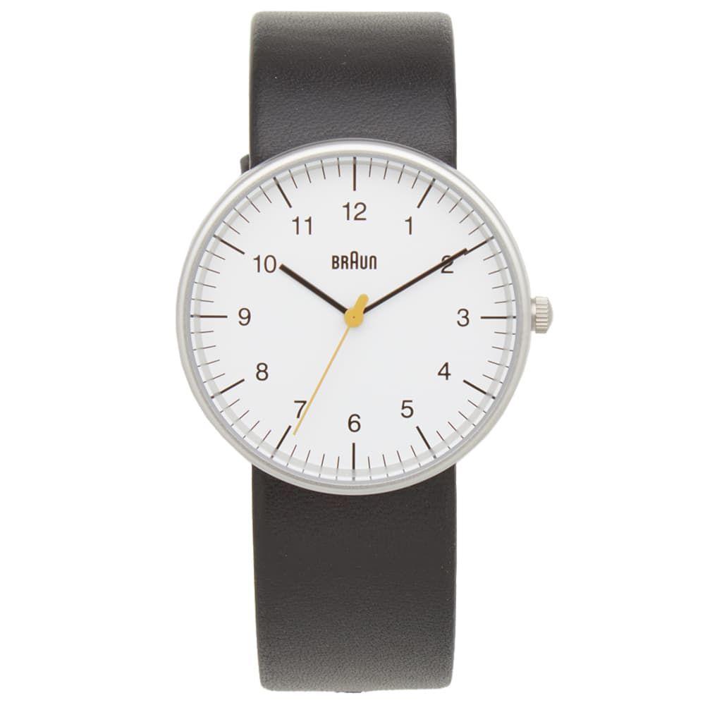 ブラウン Braun メンズ 腕時計 【bn0021 watch】White/Black