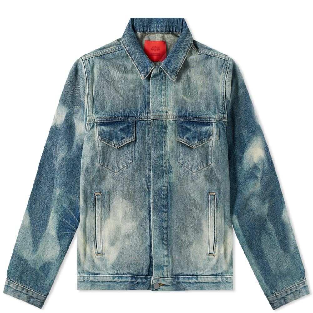 フォートゥーフォー 424 メンズ ジャケット アウター【x armes trucker jacket】Indigo