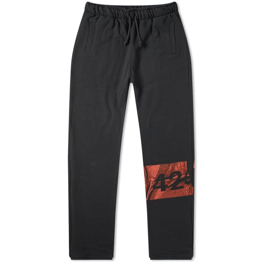 フォートゥーフォー 424 メンズ スウェット・ジャージ ボトムス・パンツ【sweat pant】Black/Red
