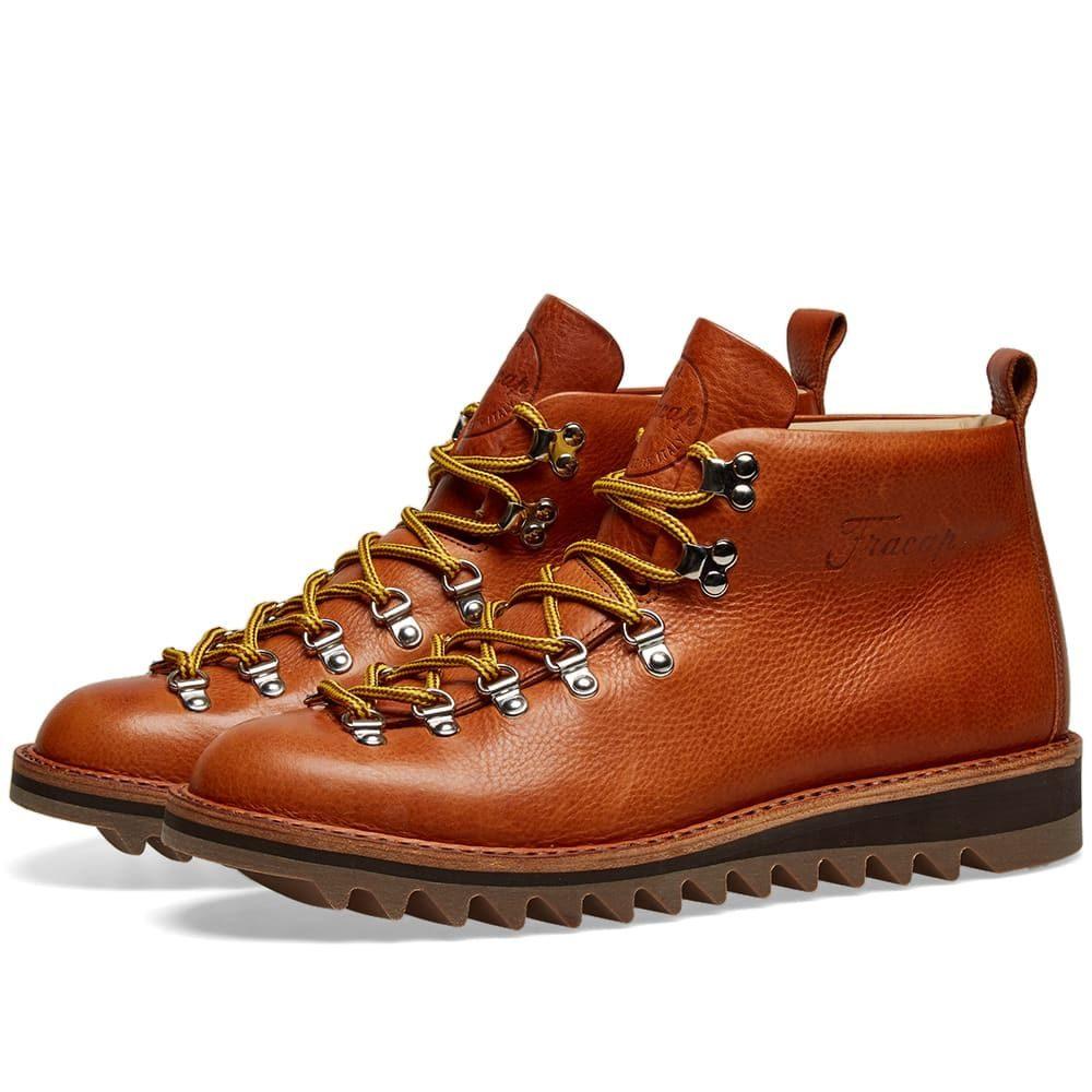 フラカップ Fracap メンズ シューズ・靴 ブーツ【M120 Ripple Sole Scarponcino Boot】Brandy