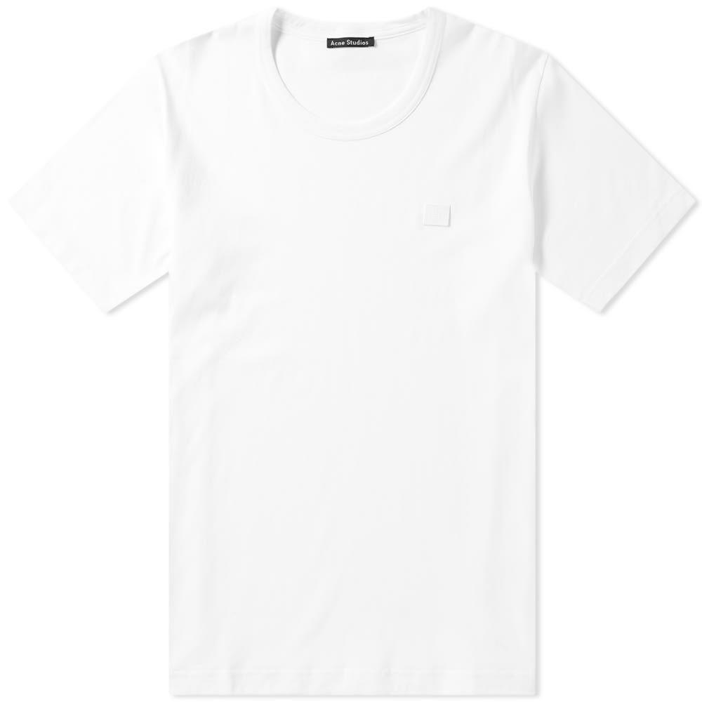 アクネ ストゥディオズ Acne Studios メンズ Tシャツ トップス【nash face tee】Optic White