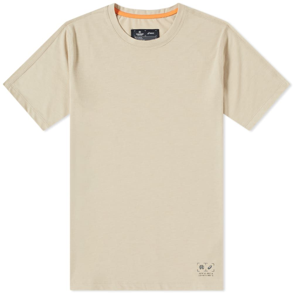 アシックス Asics メンズ Tシャツ トップス【x reigning champ graphic tee】Feather Grey Heather