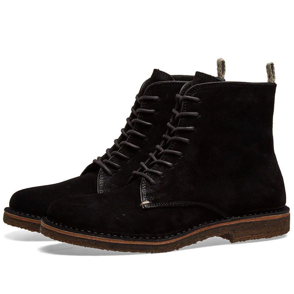 アストールフレックス Astorflex メンズ シューズ・靴 ブーツ【Bootflex Boot】Black
