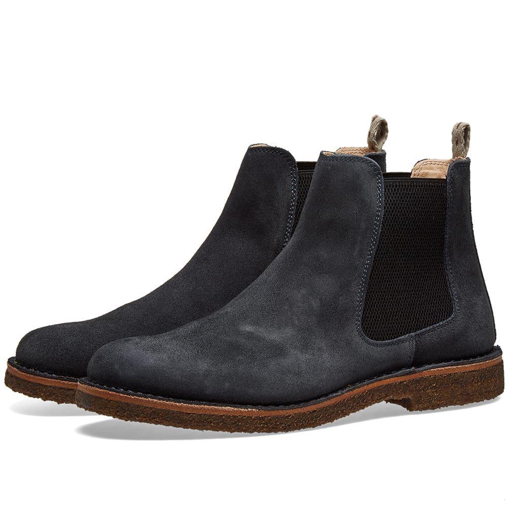 アストールフレックス Astorflex メンズ シューズ・靴 ブーツ【Bitflex Chelsea Boot】Navy