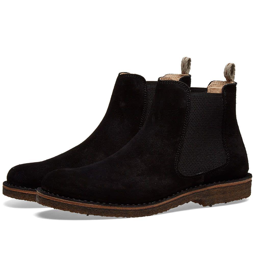 アストールフレックス Astorflex メンズ シューズ・靴 ブーツ【Bitflex Chelsea Boot】Black