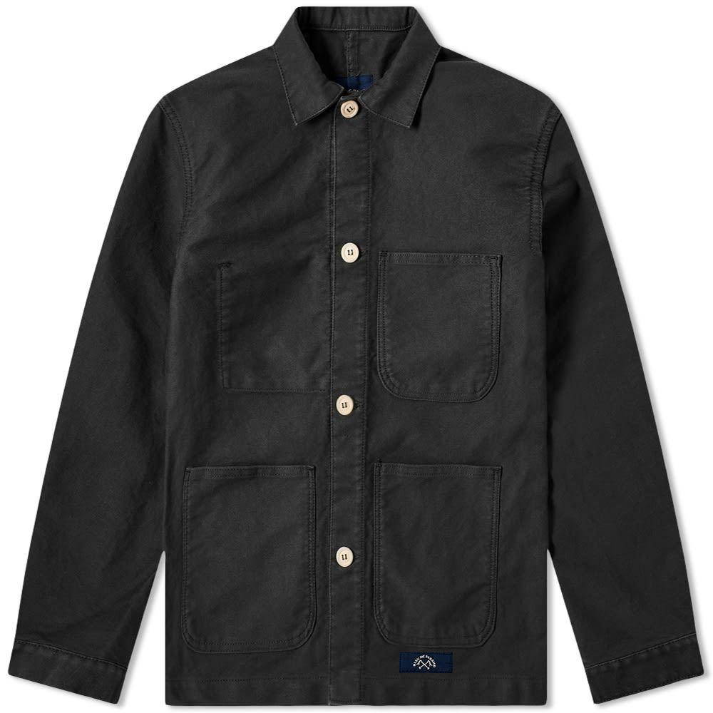 ブルー ドゥ パナム Bleu de Paname メンズ ジャケット アウター【counter jacket】Black