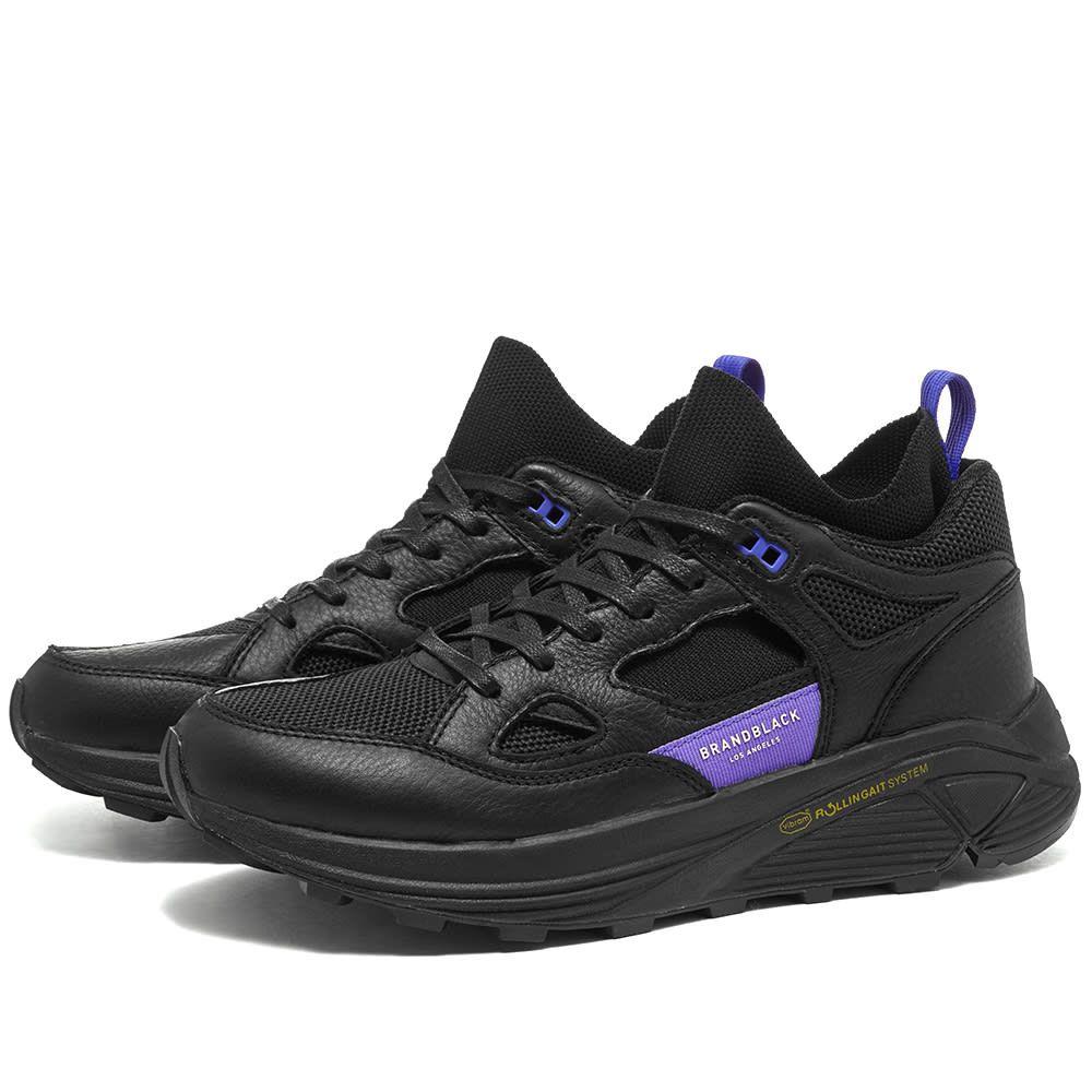 ブランドブラック Brandblack メンズ シューズ・靴 スニーカー【Aura】Black/Purple