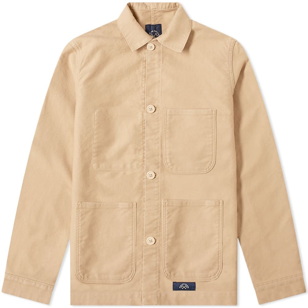 ブルー ドゥ パナム Bleu de Paname メンズ ジャケット アウター【counter jacket】Sand