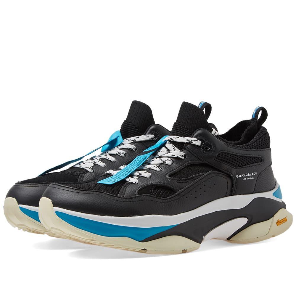 ブランドブラック Brandblack メンズ シューズ・靴 スニーカー【Saga】Black/Blue
